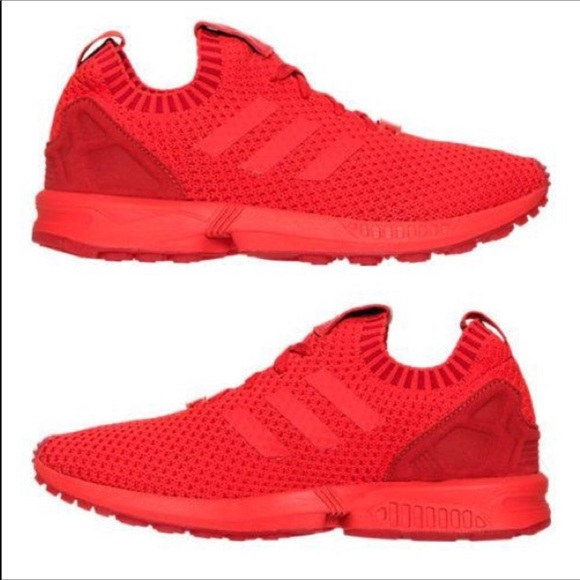 78b64fe1c63e3 adidas Other - ADIDAS ZX Flux Torsion Red Sock Sneakers